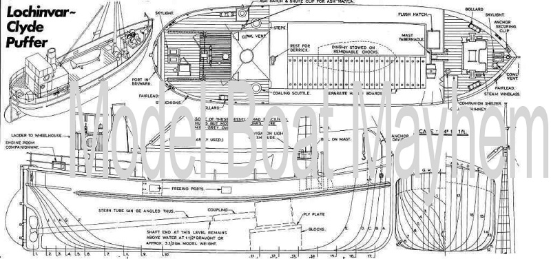 Model Boat Plans By Vic Smeed