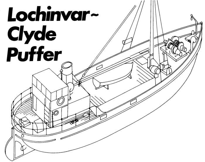 Model Boat Mayhem - How to build a Clyde Puffer